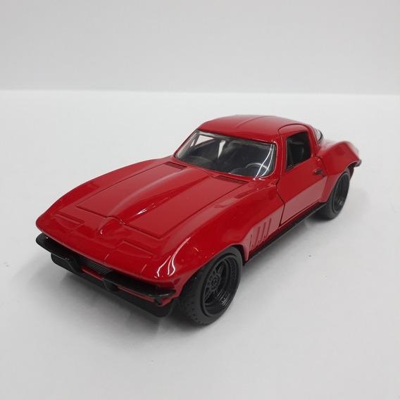 Chevy Corvette 1966 - Velozes E Furiosos 8 Escala 1/32 Jada