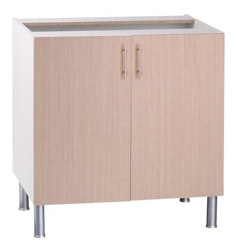 Mueble Cocina Bajo Para Fregadero 98,5 Cm Melamina