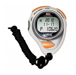 Cronômetro Digital Liveup Ls3347 80 Lap Com Alarme Relógio