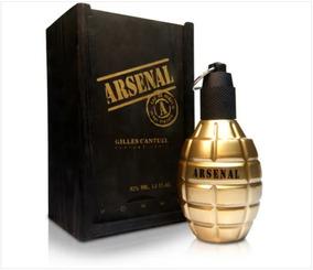 Arsenal Gold Masculino De Gilles Cantuel Eau De Parfum