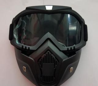 Mascara Goggle Para Motociclista