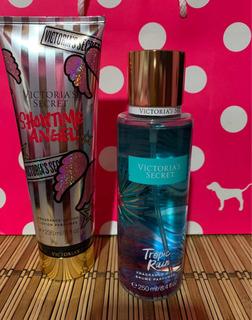 Body Splash Y Cremas Corporales Victorias Secret Kit