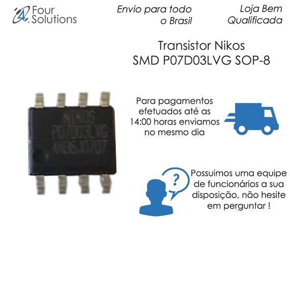 Transistor Nikos Smd P07d03lvg Sop-8