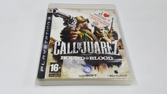 Call Of Juarez Bound In Blood - Ps3 - Original