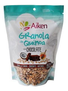 Granola De Quinoa Con Chocolate Vegetariano Aiken 250 G