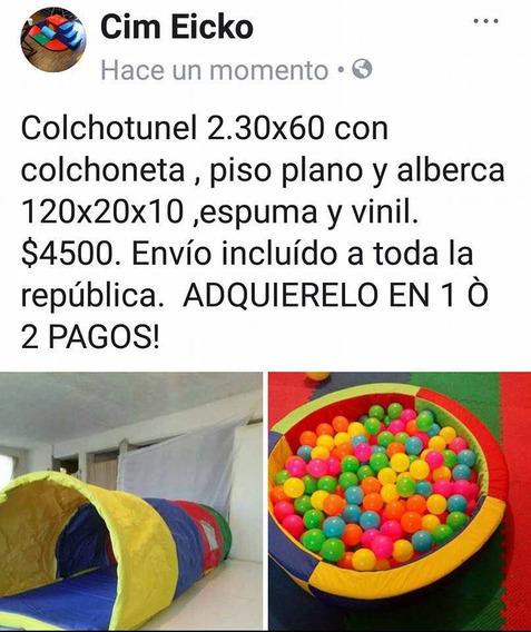 Alberca De Pelotas Y Colchotunel