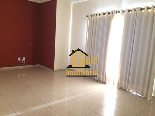 Apartamento Com 2 Dormitórios À Venda, 90 M² Por R$ 300.000 - Jardim Botânico - Ribeirão Preto/sp - Ap1921