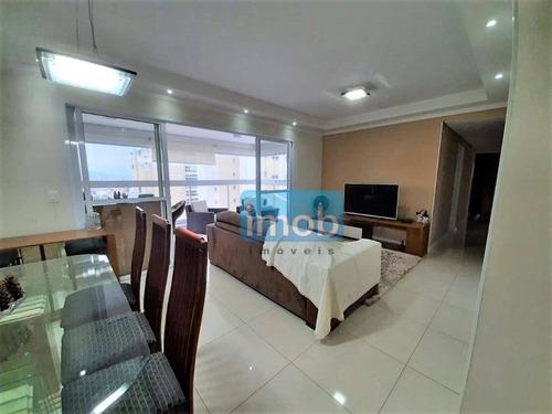 Imagem 1 de 30 de Apartamento Com 3 Dormitórios À Venda, 111 M² Por R$ 815.000,00 - Ponta Da Praia - Santos/sp - Ap7864