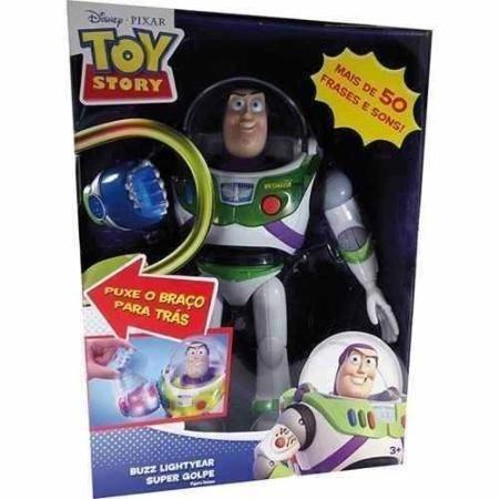 Boneco Buzz Toy Story Disney Com Falas