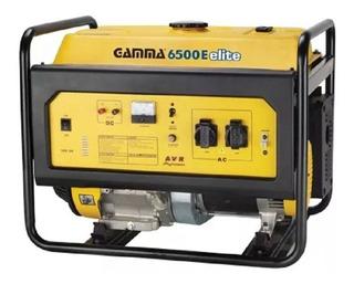 Grupo Electrogeno Gamma 6500 Elite Generador 6000w Ge3458