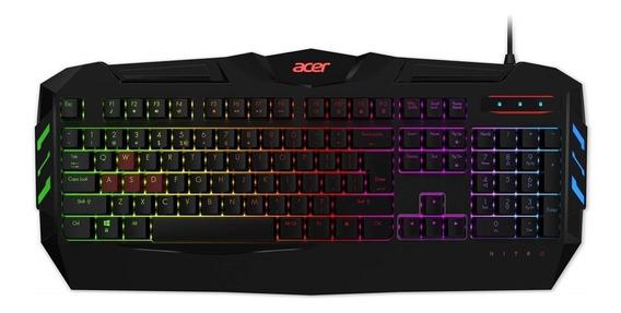 Teclado Gamer Acer Nitro Com Suporte Anti-ghosting E 6 Opcoe