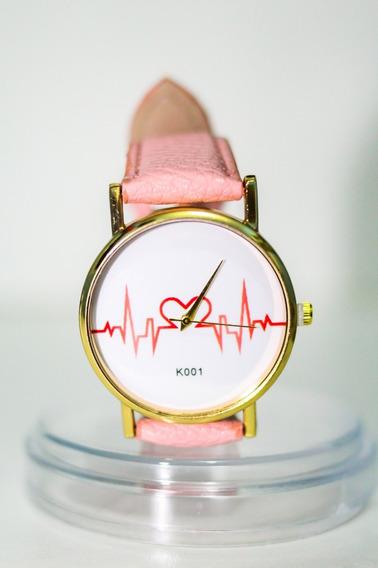 Relógio Linha Da Vida - Coração