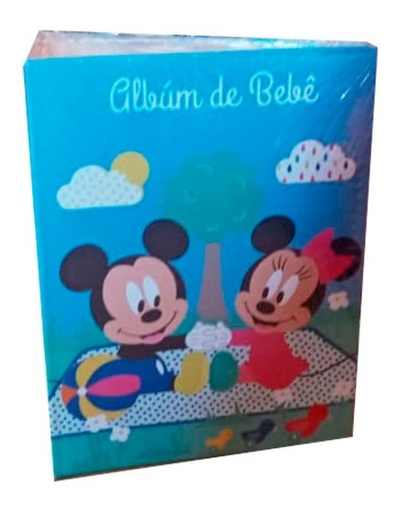 Álbum De Fotos Baby Mickey 80 Fotos Etipel