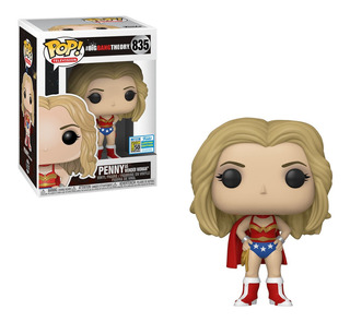 Figura Funko Pop Tv Big Bang Theory - Penny As Wonder Woman