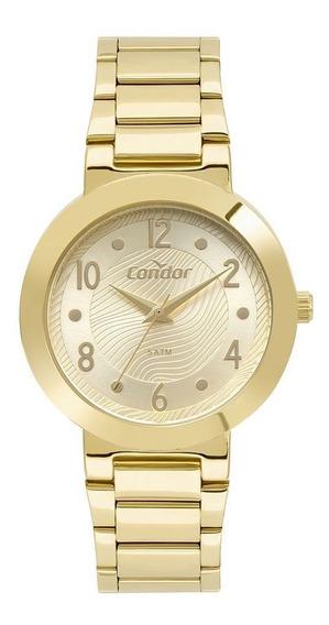 Relógio Condor Feminino Dourado Co2035mtr4d