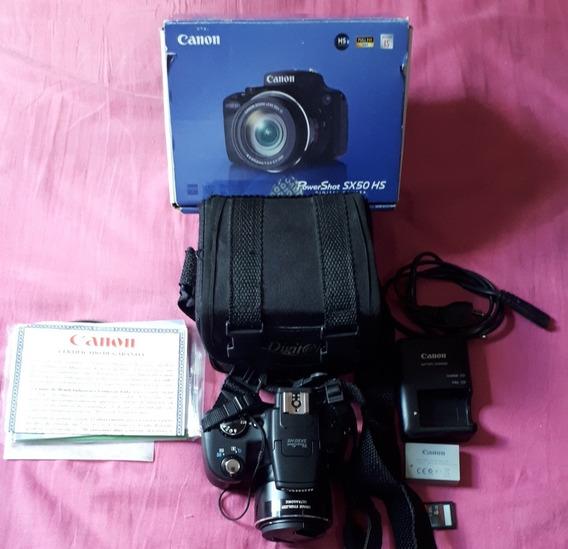 Câmera Digital Canon Powershot Sx50 Hs