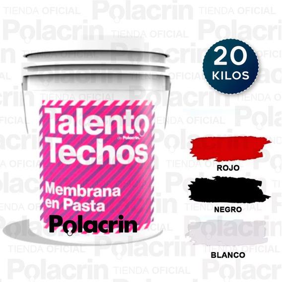 Membrana Blanca Terraza Liquida Techo 20 Lts Envio Cuota