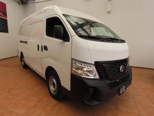 Imagen 1 de 9 de Nissan Urvan Panel Amplia Tm 2018 Blanca