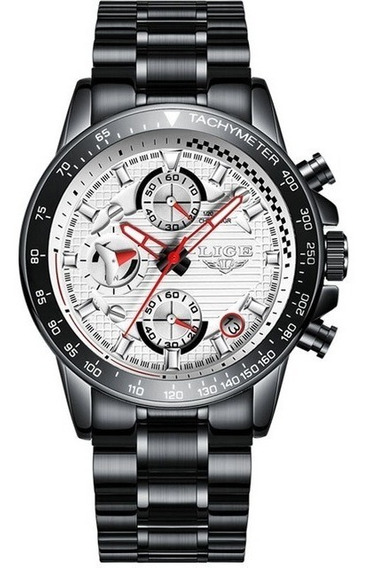 Relógio Lige Masculino Original Lg9837 Barato Todo Funcional