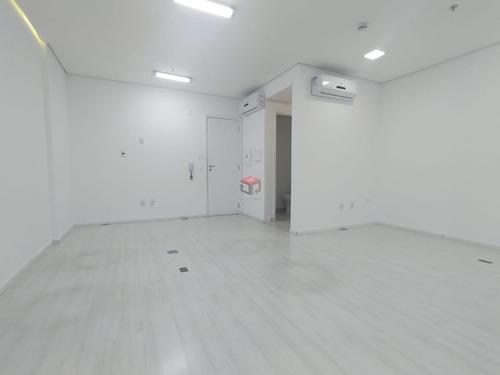 Imagem 1 de 8 de Sala À Venda, 1 Vaga, Homero Thon - Santo André/sp - 97891