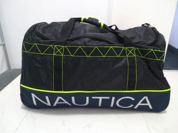Bolso Valija Carrito Grande Marca Nautica