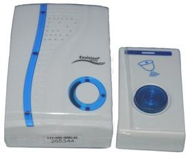 Campainha Sem Fio Doorbell - Resistente A Chuva 100 Metros