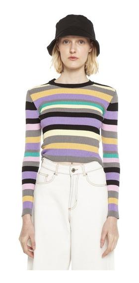 Sweater Cora Tejido Multicolor Mujer Complot