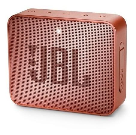 Caixa De Som Bluetooth Jbl Go 2 Portátil Original - Cinnamon