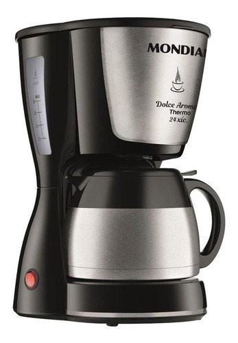 Cafeteira Elétrica Mondial Dolce Arome Thermo Preto 220v - C33