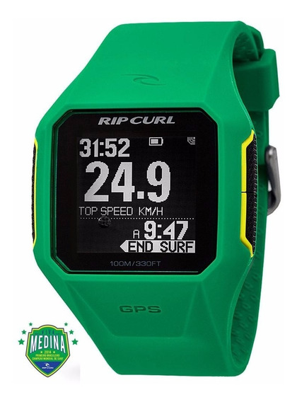 Relógio Rip Curl Gps Verde | Poison Surf Shop