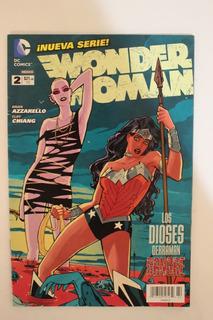 2012 Cómic Wonder Woman #2 Dc Televisa New 52 Mujer Maravill