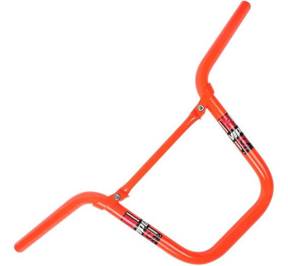 Guidao Motoboy Com Travessa Viper - Laranja Neon