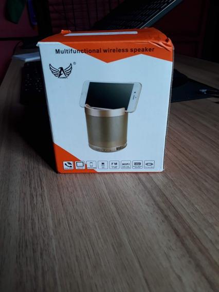 Caixa De Som De Bluetooth Com Suporte Para Celular