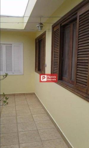 Casa Com 3 Dormitórios À Venda, 300 M²  - Campo Belo - São Paulo/sp - Ca1579