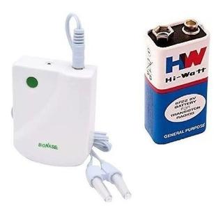 Aparelho Bionase Laser Sinusite Rinite Alergia + Bateria