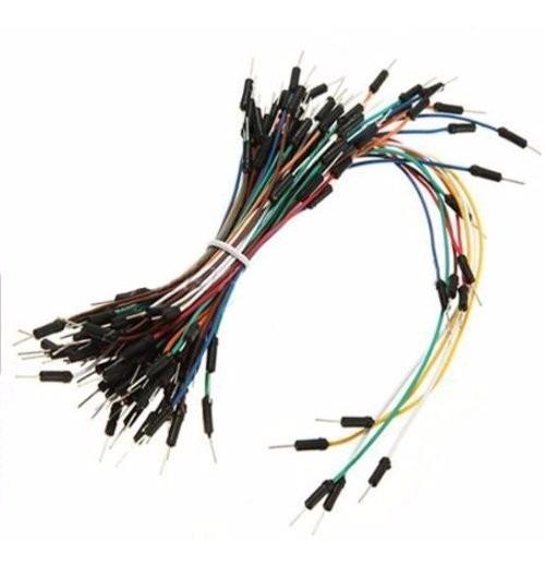 Cables Macho-macho Para Protoboard 65pcs Arduino