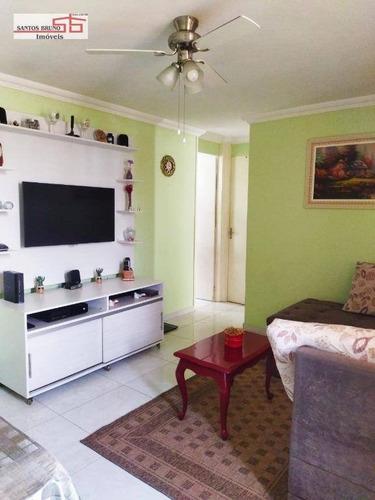 Apartamento Com 2 Dormitórios À Venda, 50 M² Por R$ 230.000,00 - Vila Nova Cachoeirinha - São Paulo/sp - Ap4097