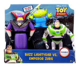 Toy Story Buzz Lightyear Vs Zurg + Alien