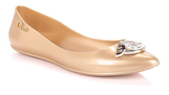 Sapatilha Details Dourada - R6052530066