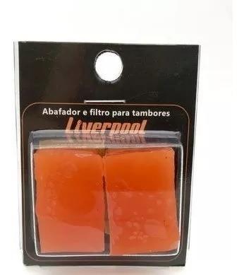 Gel Abafador E Filtro Para Tambores Liverpool