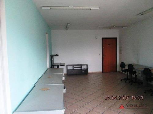 Imagem 1 de 8 de Sala À Venda, 60 M² Por R$ 255.000,00 - Vila Campestre - São Bernardo Do Campo/sp - Sa0197