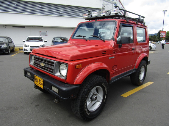 Chevrolet Samurai Hard Top Mt 1300cc 4x4