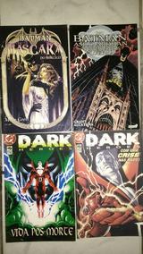 Lote Com 16 Gibis Dark Heroes Batman Hellblazer Sandman