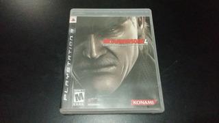 Metal Gear Solid 4 Ps3 Envio Muy Buen Estado Funcionando 100