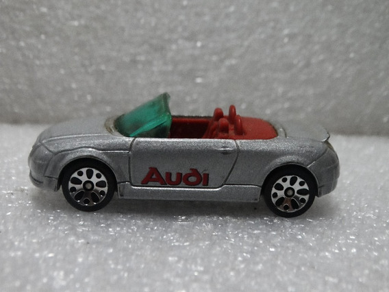Audi Tt Roadster Cinza Conversível Matchbox 1:64 Loose