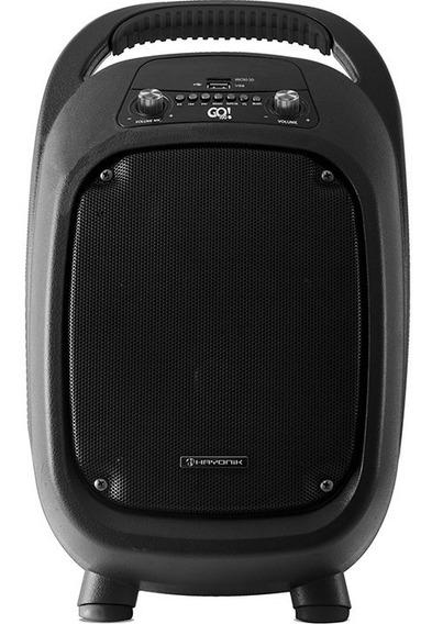 Caixa Ativa Hayonik Go 100 C/bateria E Microfone S/fio