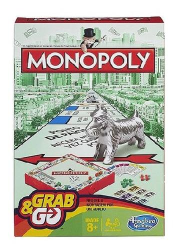 Imagem 1 de 2 de Jogo Monopoly Grab&go - Hasbro