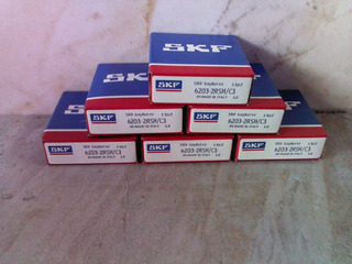 Rodamiento Rolinera Skf 6203 2rs/c3 Al Mejor Precio En Stock