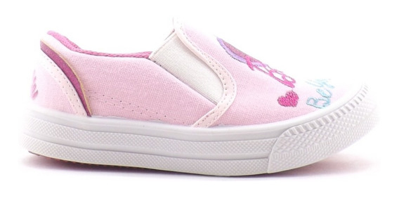 Zapatilla Barbie Nena Niña Pancha Tela Promocion 23-26
