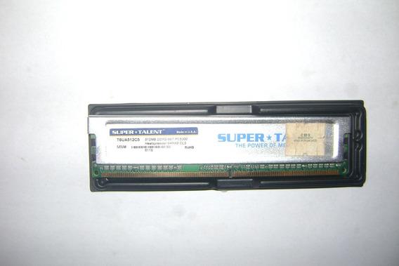 Memoria Ram Super Talent Ddr2 512mb C/ Disipador